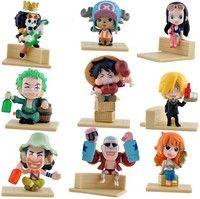 Anime Q Version One Piece Set of 9 Figures