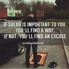 So true.you should always make salah your priority.is the most effective way to preserve your relationship with Allah s. Islamic Qoutes, Islamic Teachings, Islamic Inspirational Quotes, Muslim Quotes, Religious Quotes, Arabic Quotes, Islam Religion, Islam Muslim, Islam Quran