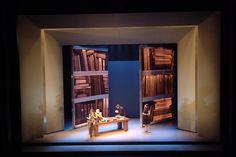 Example of Space -------------------- L'Imposture. Théâtre du Nouveau Monde. Scenic design by Gabriel Tsampalieros.