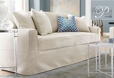 Sure Fit Slipcovers Premier Acadia Separate Seat Petite Sofa Slipcovers - Petite Sofas why cant this come in a tshape style GRRR