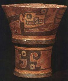 : Tiahuanaco,kero  pottery