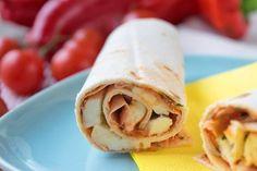 Tortillas mit Mozzarella - Rezept