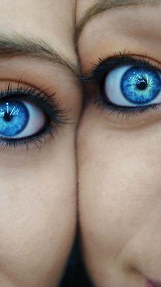 blue eyes!   :)