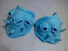 Tutorial: How to make EVA foam skull adornments by The Neo Tokyo ProjectView the full tutorial here:https://www.facebook.com/media/set/?set=a.738203179555044.1073741891.213974638644570&type=1 —-Click here for other EVA foam armor tutorials.