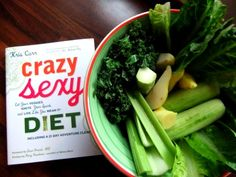 Crazy Sexy Diet- A Must Read for Anyone Trying to Live Healthy! And It Has Awesome Green Juice Recipes!