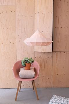 Our new Woodpecker lamp @ Studio Snowpuppe! Picture by Iris Rozendaal