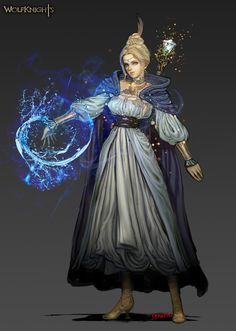 ArtStation - mage_water_novice, Youngmin suh