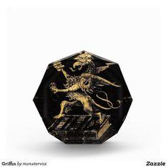 Griffin Awards #Griffin #Griffon #Gryphon #Beast #Creature #Fantasy #Acrylic #Award
