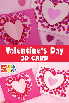 Make a cool DIY Valentine for your sweet. Make a cool DIY Valentine for your sweet. Valentines Day Crafts For Preschoolers, Valentine's Day Crafts For Kids, Valentine Crafts For Kids, Valentines Day Activities, Toddler Crafts, Preschool Crafts, Valentines Crafts For Kindergarten, Funny Valentine, Early Education
