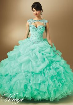 sweet 16 dresses on sale at reasonable prices, buy vestido de 15 anos curto Quinceanera Dresses Mint Organza Ball Gowns Prom Gown Dresses 2017 New sweet 16 dresses from mobile site on Aliexpress Now! Masquerade Ball Gowns, Ball Gowns Prom, Party Gowns, Party Dress, Quince Dresses, 15 Dresses, Pretty Dresses, Cheap Dresses, Sweet 16 Dresses Blue