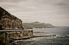 Beautiful image from and of the Seacliff Bridge, Coalcliff/Clifton, NSW Australia. Sea Cliff Bridge, Beautiful Images, Big Ben, Monument Valley, Australia, Explore, Country, Nature, Travel