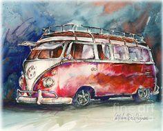 A Deluxe 15 Window Vw Bus