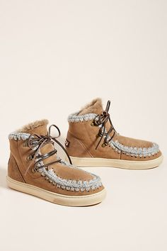 Mou Weather-Resistant Lace-Up Booties by in Brown Size: Boots at Anthropologie Grunge Outfits, Grunge Fashion, Lace Up Booties, Black Booties, Galaxy Converse, Soft Grunge, Grunge Style, Platform Boots, Converse Chuck Taylor