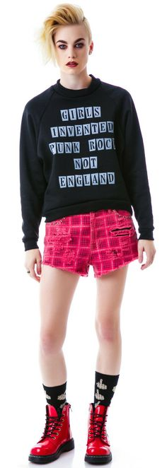United Couture England Invented Sweatshirt | Dolls Kill