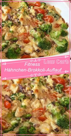 Fitness Hähnchen-Brokkoli-Auflauf – Hobbies paining body for kids and adult Chicken Broccoli Bake, Healthy Chicken Casserole, Cheesy Chicken, Chicken Curry, Healthy Chicken Recipes, Meat Recipes, Dinner Recipes, Recipe Chicken, Asian Recipes