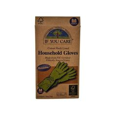 If You Care Household Gloves are made from Forest Stewardship Council (FSC) latex meaning that the natural rubber is sourced from an environmentally responsible plantation. The gloves are naturally biodegradable and made from 100% renewable resources. They are perfect for dishwashing oven cleaning and bathroom or other house cleaning tasks. The product packaging is also made of 100% recycled materials. Size Medium.Ingredients : FSC certified latex from responsibly managed plantation 100%…