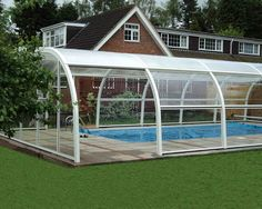 ABS Pools stock and supply swimming pool enclosures so your pool can be protect from the elements.