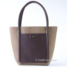 Oryginalna torebka damska marki Monnari w kolorze beżowym z elementami brązowymi (odcień kawy). Zobacz zdjęcia w lepszej jakości Kliknij http://torebki-damskie.eu/bezowe/1324-oryginalna-torba-monnari-bezowy-z-kawa.html