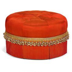 Southwood Furniture Corporation- Fashion Upholstery: Round tufted ottoman