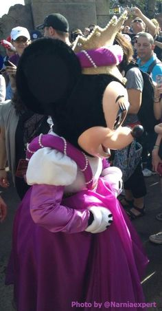 Princess Minnie Mouse at the New Fantasyland Grand Opening. (Magic Kingdom / Disney World)
