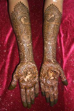 mehndi maharani finalist: Mehndi Designer http://maharaniweddings.com/gallery/photo/13901