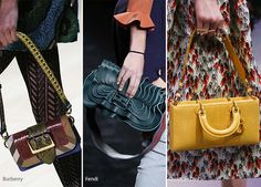 One of the coolest ways of carrying a handbag as per the fall/ winter 2016…