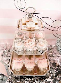 Beautiful for a wedding dessert bar