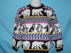 Penguins & Polar Bears Ugly Awesome Sweater