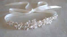 Bridal headband. Bridal head piece. Bridal hair by ShesAccessories, $74.95
