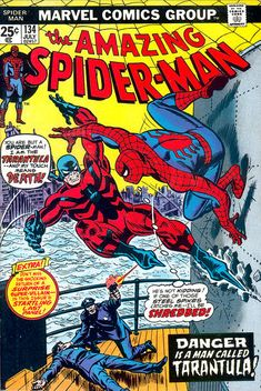 The Amazing Spider-Man #134 (1963 series) - cover by John Romita