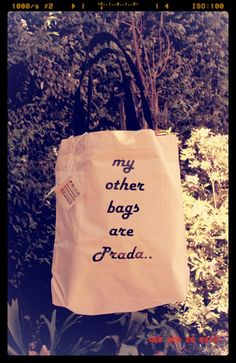 my other bag are Prada