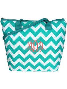 $10.90 Light Aqua Chevron Quilted Shoulder Bag