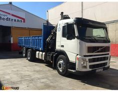 VOLVO FM12 380 truck cranes HIAB 166-5 HIDUO