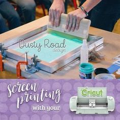 Screen printing with your Cricut