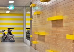 Genesis Gym Fitout Port Melbourne Vic  Designed by Serena Elise for White Chalk Interiors