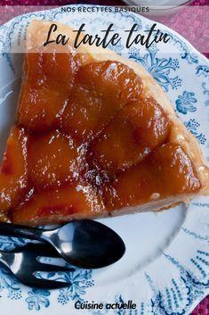 tarte tatin recette - tarte pommes - recette facile - caramélisé - #dessert #recettefacile #gateau