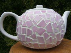 Mosaic Glass Teapot