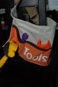 Nap Time Crafts: Toddler Toolbelt