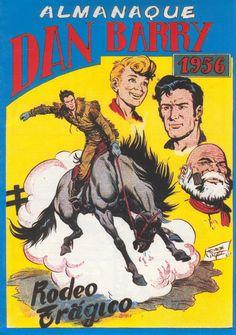 Dan Barry el Terremoto, Almanaque 1956