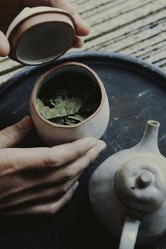 Tea leaves from japanese tea ceremony. Chai, Tee Kunst, Chocolate Cafe, Tea Culture, Natsume Yuujinchou, Japanese Tea Ceremony, Tea Art, Herbal Tea, High Tea