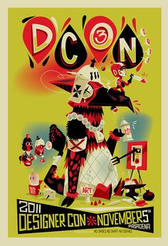 Brandon Johnson - DCON Poster