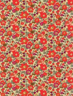 Attention : Juillet 2013 !!! : réédition exceptionnelle du merveilleux Betsy fluo thé .... des fleurs fluo sur un fond bistre qui semble teint au thé c'est tout à fait magique !!! dispo chez Stragier - Pré-commande possible !!