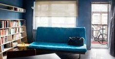 Appartement van 35 m2 in Londen. Kijk op: http://living.corriere.it/case/