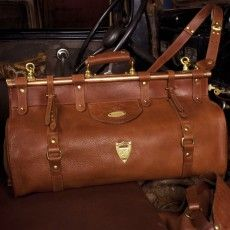 gorgeous.  No. 3 Grip bag by Colonel Littleton $875.00