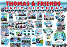 Thomas & Friends Birthday Party Printable Set by PartyPrintLand