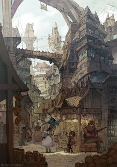 Inspiration for the lower world. Spark