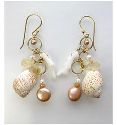 Meg Carter - Sea Candy in Butterscotch Pierces - Garder L'histoire Online Boutique