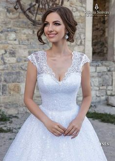 INÊS: O apaixonante modelo Inês encanta com seu charme e deixa a noiva deslumbrante no seu casamento. Para saber mais, acesse: www.russianoivas.com #vestidodenoiva #vestidosdenoiva #weddingdress #weddingdresses #brides #bride