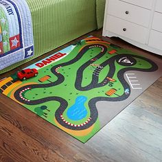 Personal Creations #Gifts  #Personalizedgifts Race Track Playmat | Personal Creations - Great Personalized Gifts via- http://www.AmericasMall.com/personalcreations-gifts