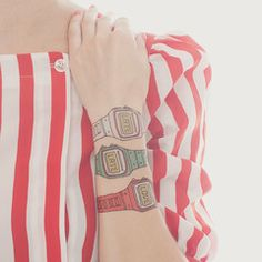 Super fun temporary tattoos for adults AND kids!